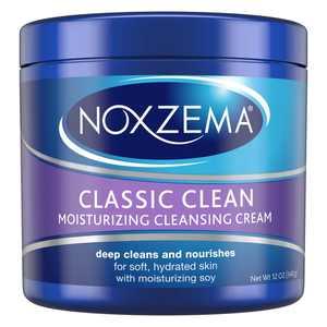 Noxzema Facial Cleanser Moisturizing Cleansing Classic Clean, 12 oz