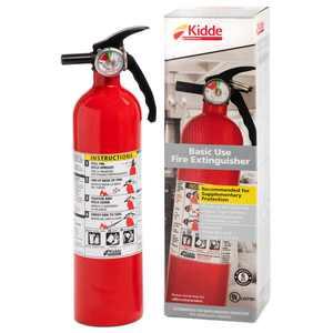 Kidde 1A10BC Basic Use Fire Extinguisher, 2.5 lbs.