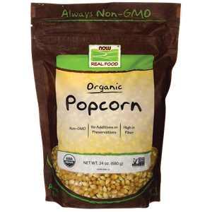 NOW Foods Organic Popcorn 24 oz Pkg