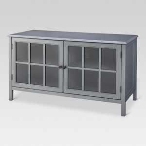 Windham TV Stand Gray - Threshold™