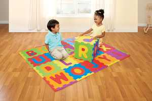 Spark. Create. Imagine. ABC Foam Playmat Learning Toy Set, 28 Pieces