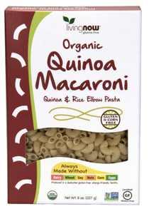 NOW Foods Quinoa Macaroni Pasta, 8 Oz