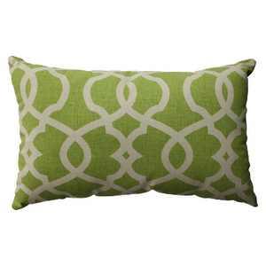 """Green Emory Lumbar Throw Pillow 11.5""""x18.5"""" - Pillow Perfect"""