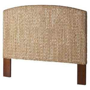 King Andres Seagrass Headboard Honey - Mudhut
