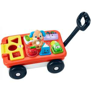 Fisher-Price Laugh & Learn Pull & Play Learning Wagon, Unisex Preschool Toy