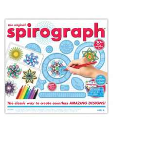 The Original Spirograph Drawing Set with Markers