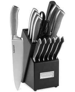 Graphix Classic Stainless Steel 15-Pc. Cutlery Set