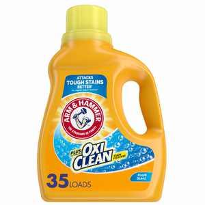 Arm & Hammer OxiClean Fresh Scent Liquid Laundry Detergent, 61.25 oz