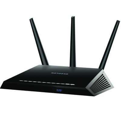 NETGEAR Nighthawk AC1900 Smart WiFi Router - 802.11ac Dual Band Gigabit (R7000)