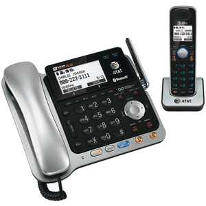 At&t Tl86109 Dect 6.0 2-line Connect To Cell Corded/cordless Phone System With digitl Answering System & Caller Id (corded Base System & Single Handset)