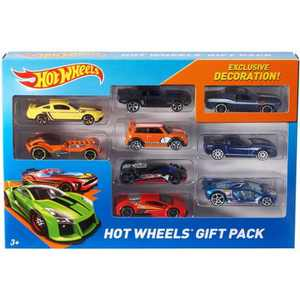 Hot Wheels Diecast 9 Car Gift Pack