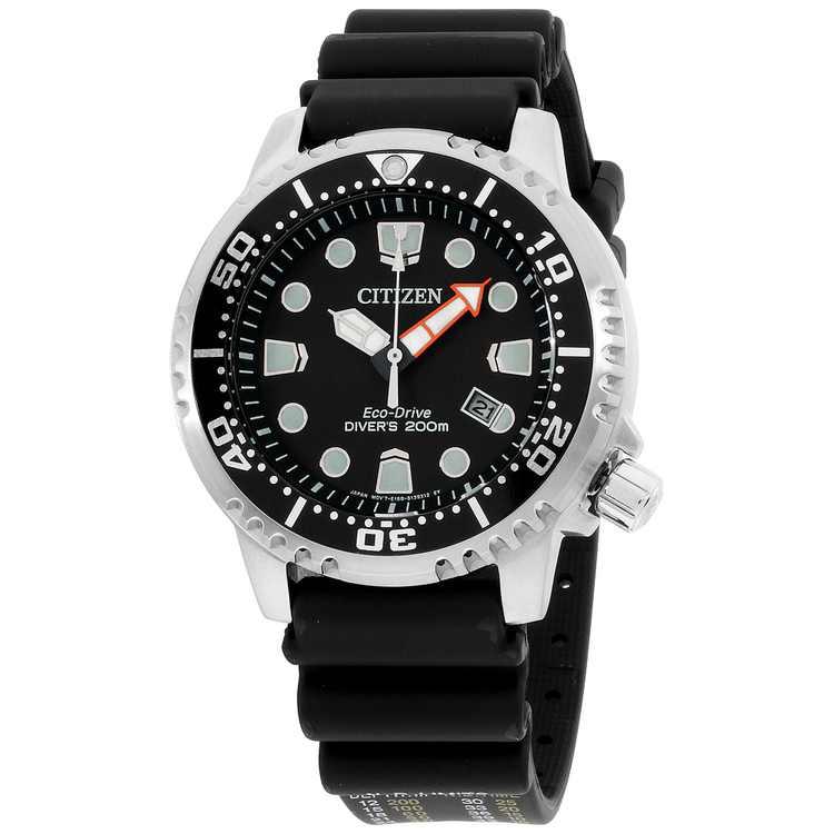 Citizen Promaster Diver 200 Meters Eco-Drive Black Dial Men's Watch BN0150-28E