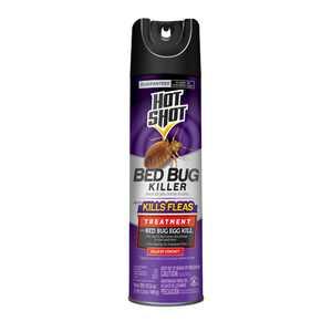 Hot Shot Bed Bug Killer 17.5 Ounces, Aerosol, Treatment For Bed Bugs
