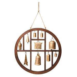 Circle of Bells Indoor/Outdoor Wind Chime Garden Outdoor Decor