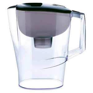 Water Filtration Pitcher Black 10 Cup Capacity - up & up™