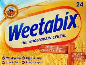 Weetabix Whole Grain Biscuit Cereal, 14 Oz