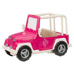Our Generation My Way and Highways 4x4 Doll Vehicle - Pink and White