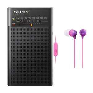 Sony Portable AM/FM Radios, Black, MODNXA1LZ4IHCK