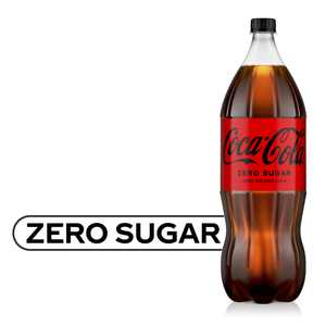Coca-Cola Zero Sugar Bottle, 2 Liters