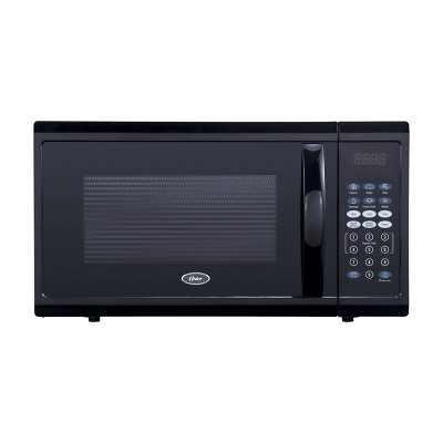 Oster 1.1 cu ft 1100W Digital Microwave Oven - Black OGZJ1104