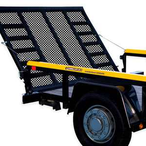 Gorilla-Lift 2 Sided Tailgate Utility Trailer Gate and Ramp Lift Assist System