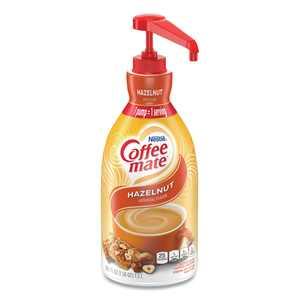 Coffee-Mate Hazelnut Liquid Creamer Pump Bottle, 1.5L