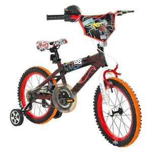 """Hot Wheels 16"""" Kids' Bike - Black/Red"""