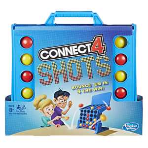 Connect 4 Shots Activity Game, Game for kids Ages 8 and up, for 2 or more players