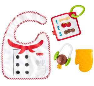 Fisher-Price Cutest Chef Gift Set, 4-Piece Infant Toy