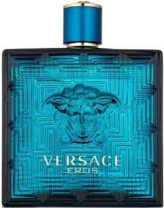 Versace Eros Eau de Toilette, Cologne for Men, 3.4 Oz Full Size