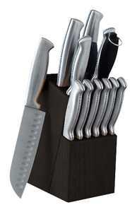 Oster - Baldwyn 14-Piece Knife Set - Stainless-Steel