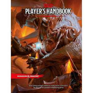 Dungeons & Dragons Player's Handbook (Core Rulebook, D&d Roleplaying Game) - (Hardcover)