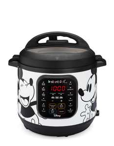 Instant Pot 6-Quart Duo Electric Pressure Cooker, 7-in-1 Yogurt Maker, Food Steamer, Slow Cooker, Rice Cooker & More, Disney Mickey Mouse, White