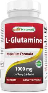 Best Naturals L-Glutamine 1000 mg 180 Tablets