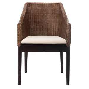 Dining Chair Wood/Brown - Safavieh