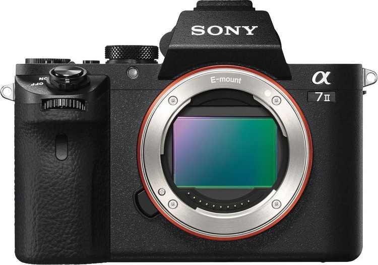 Sony - Alpha a7 II Full-Frame Mirrorless Video Camera (Body Only) - Black