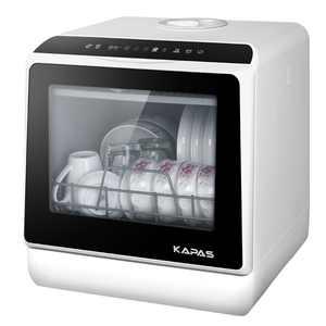 Portable Countertop Dishwasher, 5 Washing Programs