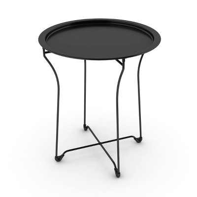 End Table Metal Black - Atlantic
