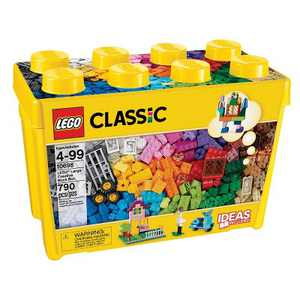 LEGO Classic Large Creative Brick Box Build Your Own Creative Toys, Kids Building Kit 10698