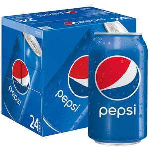 Pepsi Soda, 12 oz Cans, 24 Count