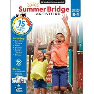 Summer Bridge Activities Grades K–1 (Paperback)