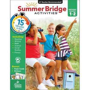 Summer Bridge Activities Grades 1–2 - by CARSON-DELLOSA PUBLISHING LLC (Paperback)