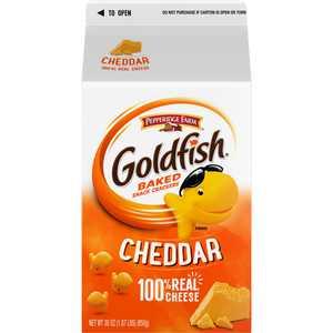 Goldfish Cheddar Crackers, Snack Crackers, 30 oz carton