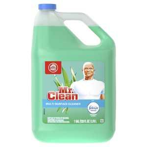 Mr. Clean Multi-Surface Cleaner with Febreze Freshness, Meadows & Rain, 128 fl oz