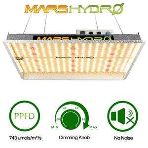 MARS HYDRO TS 1000W Led Grow Light Full Spectrum Sunlike Indoor Plants Veg Flower All Stage Hydroponics Diammable Brightness NO-noise