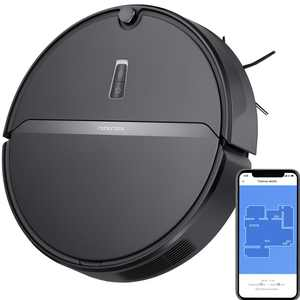 Roborock E4 Robot Vacuum Cleaner, Internal Route Plan with 2000Pa Strong Suction, 200min Runtime, Carpet Boost, APP Total Control Robotic Vacuum, Ideal for Pets and Larger Home