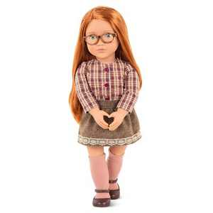 "Our Generation 18"" School Doll - April"