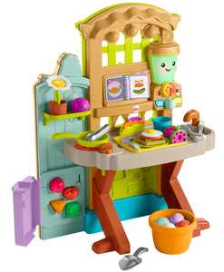 Fisher-Price Laugh & Learn Grow-The-Fun Garden Play Kitchen