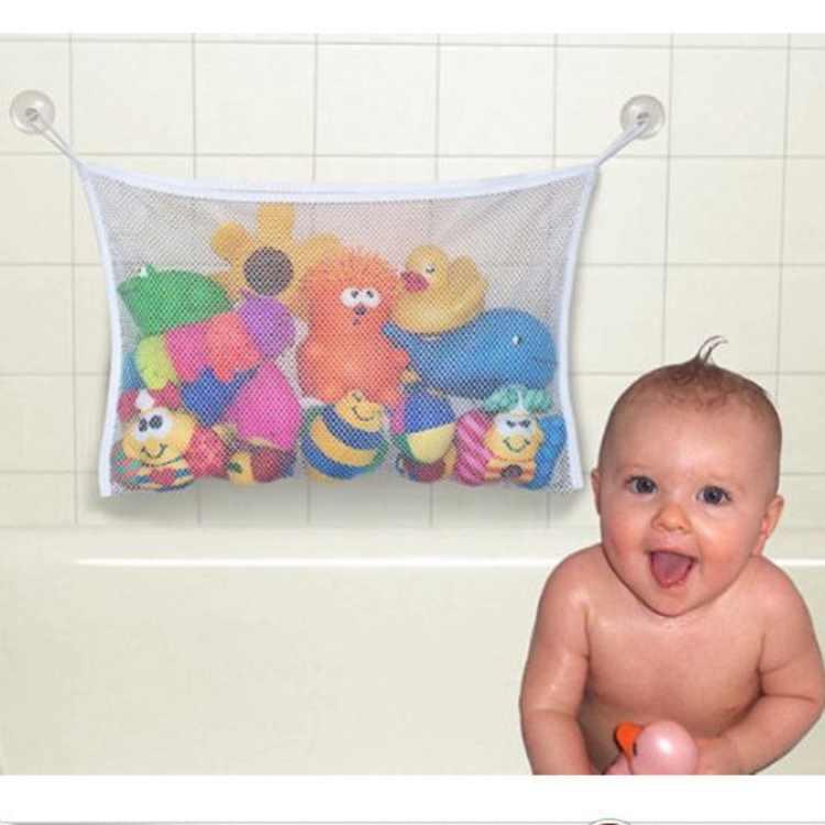 Baby Bathroom Toy Organizer Hanging Mesh Net Storage Bag