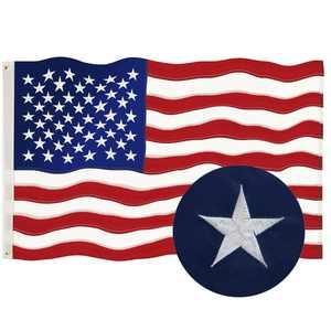 Goplus 3' x 5' Polyester American Flag Outdoor Flag